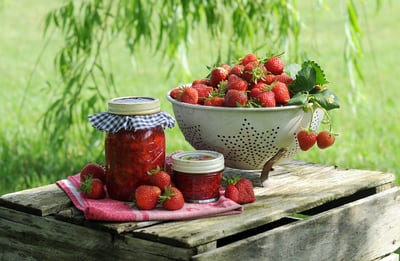 Turn fresh strawberries into delicious Jam/Jelly